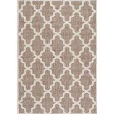 gina moroccan trellis taupe 9 ft x 13 ft outdoor area rug