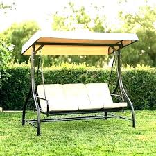 3 seat swing with canopy 2 person replacement outdoor swings garden oasis replaceme