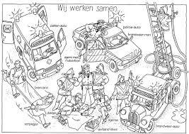 Ambulance Schatkist Kleurplaat Google Zoeken Ziek En Gezond