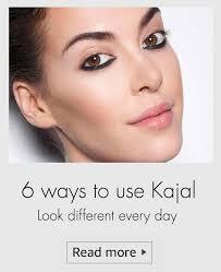diffe ways to apply kajal eye make up tips kajal styles kajal
