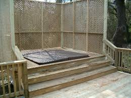 Lattice Air Conditioner Screen 63 Best Hot Tub Privacy Screens Images On Pinterest Backyard