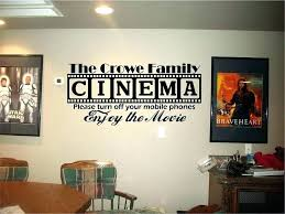 small home theater decorating ideas wall art theatre decor r panels