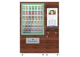 Salad Vending Machine For Sale Stunning Belt Lift System Fridge Vending Machine For Salad Fruit