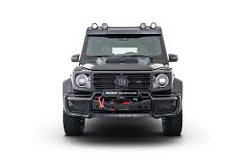 Mercedes me assist services, and 3 years of mercedes me connect services are included at no additional charge with. Brabus Adventure Package For The Mercedes Benz G Class News Events Brabus