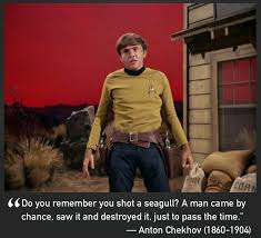 Star Trek Quotes Gorgeous Pictures Of Pavel Chekov With Quotes By Anton Chekhov Prooffreader