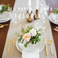 diy paper flowers for wedding