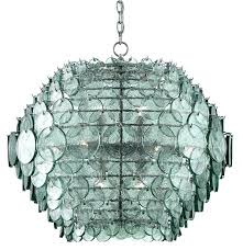 recycled glass chandeliers or very attractive chandelier medium size of light by and v93