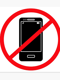 No Cell Phone Sign Printable Vector No Mobile Phones Sign Canvas Print
