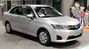 File:2013 Toyota Corolla-Axio-Hybrid 01.jpg - Wikimedia Commons