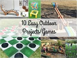 Diy Outdoor Projects 10 Unique Outdoor Diy Projects Cleverly Inspired