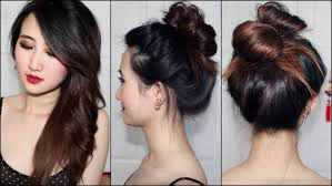 Top Knot Hair Style 30 second messy top knot youtube 2469 by wearticles.com