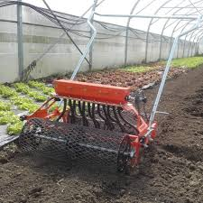 multi row market gardening seeder