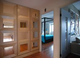 awesome mirrored bifold closet doors