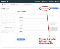 Resume Builder Linkedin Awesome resume builder from linkedin foodcityme