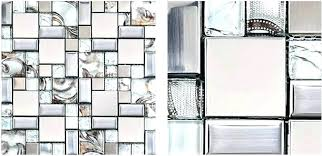 mosaic glass sheets mosaic glass tile silver metal stainless steel tiles sheet glue adhesive sheets stained