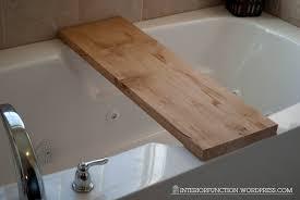 Bathtub Tray Interior Fun Diy Bathtub Tray