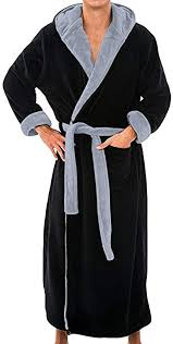 <b>Men's</b> Bathrobes <b>Autumn</b> and Winter <b>Large Size</b> Bathrobe Fashion ...