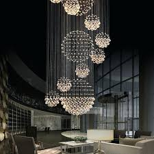 spiral crystal chandelier various sizes fit modern spiral sphere crystal chandelier intended for modern residence raindrop