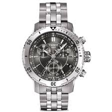 tissot men s watches shop the best deals for 2017 tissot men s prs 200 black chronograph dial stainless steel watch