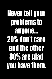 Quotes On Motivation Classy Never tell your problems to anyone48% don't care and the other 48