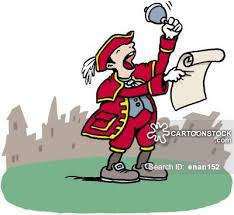Image result for town crier cartoon image