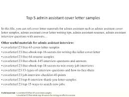 interview questions for executive assistant administrative assistant cover letter template executive