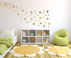on stars vinyl wall art with gold star vinyl wall decal sticker wall decor 2 and
