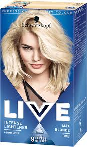 00b Max Blonde Hair Dye By Live
