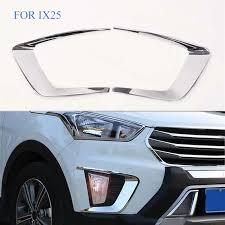 <b>FIT For Hyundai Creta</b> ix25 2015 2016 2017 Chrome Front Rear ...