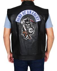 jax teller sons of anarchy vest