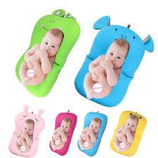 2018 baby bath tub newborn baby foldable baby bath tub pad chair shelf newborn bathtub seat infant support cushion mat bath mat baby bath baby bath tub