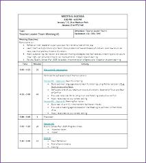 Team Meeting Agenda Template Education Homeish Co