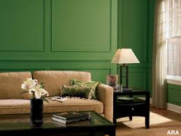 interior green color painting ideas for