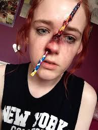 uk danielle s hammelef 9781491420027 pencil through my nose special effects makeup pencil ben nye nose