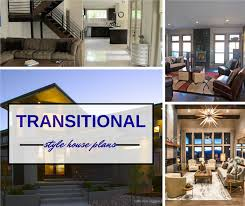montage of 3 photographs ilrating article about transitional style home design