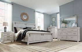 Ashley Furniture Brashland Panel Bedroom Set in White