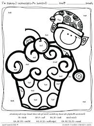 Math Coloring Sheet 1st Grade Grade Coloring Pages First And Math