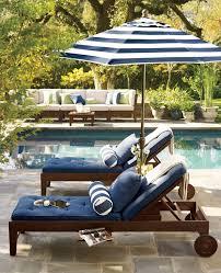 blue and white monday outdoor spacesoutdoor livingoutdoor decorpool deck furnituresunbrella