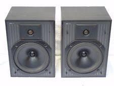 kef c series. pair of kef c series c20 black ash finish vintage bookshelf loud speakers kef