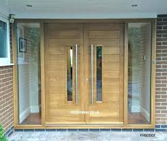architecture double front doors new contemporary oak and other woods bespoke for 0 from exterior