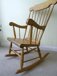 Simple Wooden Rocking Chair Rocker Basics Easy Wooden Rocking Chair