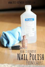Getting nail polish out of carpet Shaving Cream Nail Polish Remover From Carpet Really Works Pinterest How To Get Nail Polish Off Carpet Nails Cleaning Hacks Cleaning