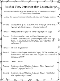Upper Elementary Snapshots: Teaching Points of View through Role ...