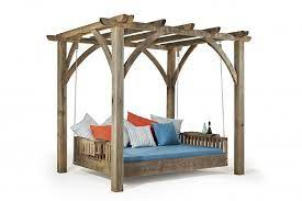 swinging day bed stylish outdoor