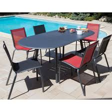 Table Jardin Aluminium Extensible Collection Mobilier De Jardin