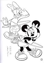 Photo Of Walt Disney Coloring Pages Daisy Duck Minnie Mouse For