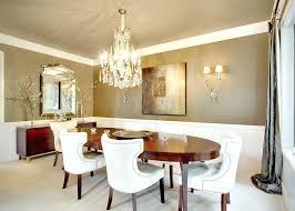 Crystal Dining Room Chandelier Interesting Decorating Design