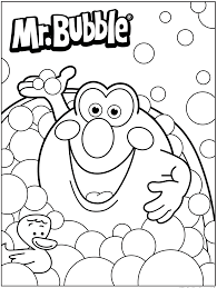 Small Picture Bath Time 3D Coloring Pages