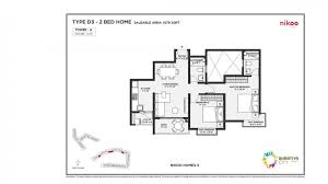2bhk 1079 floor plan