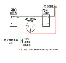 dual battery switch wiring diagram hastalavista me marine dual battery switch wiring diagram at Dual Battery Switch Wiring Diagram